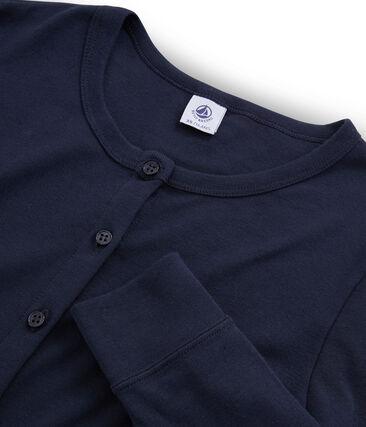 Emblematischer Cardigan für Damen blau Smoking