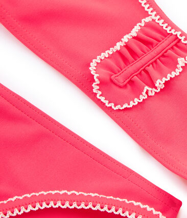 2-teiliger Kinder-Badeanzug Mädchen rosa Cupcake