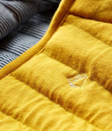 Ärmellose Baby-Jacke aus gestepptem Doppeljersey, Unisex