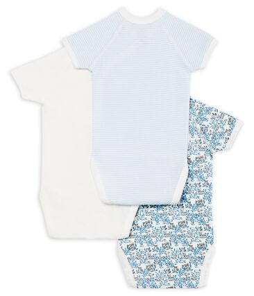 3er-Set kurzärmelige Baby-Bodys für Neugeborene