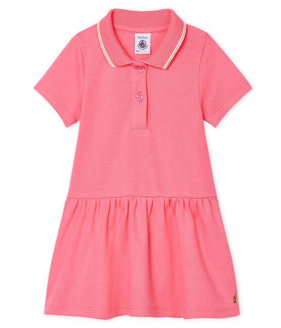 Baby-Polokleid für Mädchen rosa Cupcake