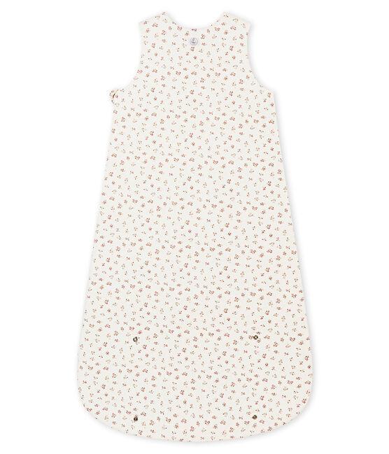 Baby MädchenSchlafsack mit Print weiss Marshmallow / weiss Multico