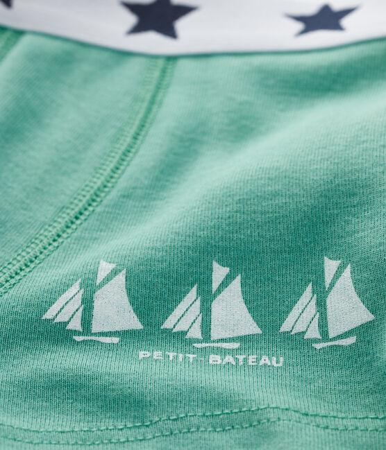 Boxershorts für kleine Jungen grün Aloevera