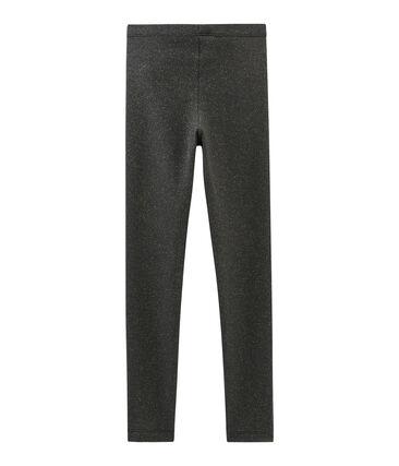Kinder-Legging Mädchen grau Capecod / gelb Or