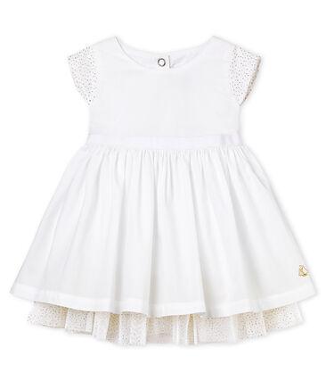 Kurzärmeliges baby-festtagskleid mädchen
