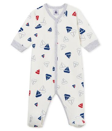 Baby-Strampler aus gedoppeltem Jersey für Jungen