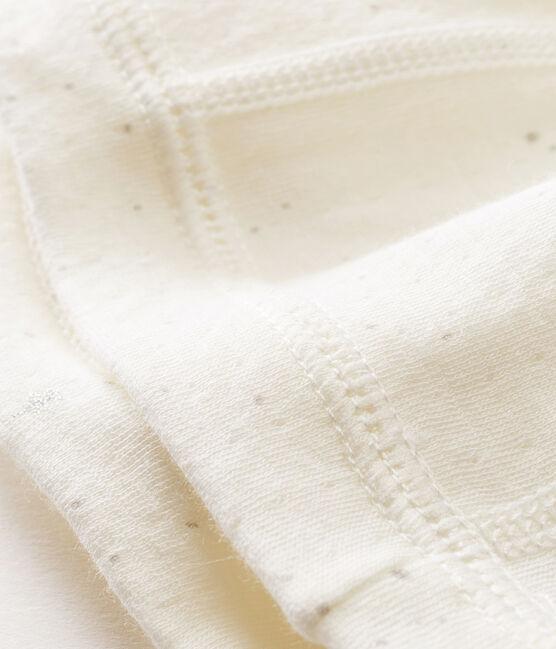 Baby-mütze für neugeborene unisex weiss Marshmallow / weiss Multico