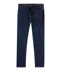 Denim-Hose für Jungen blau Denim Bleu Fonce