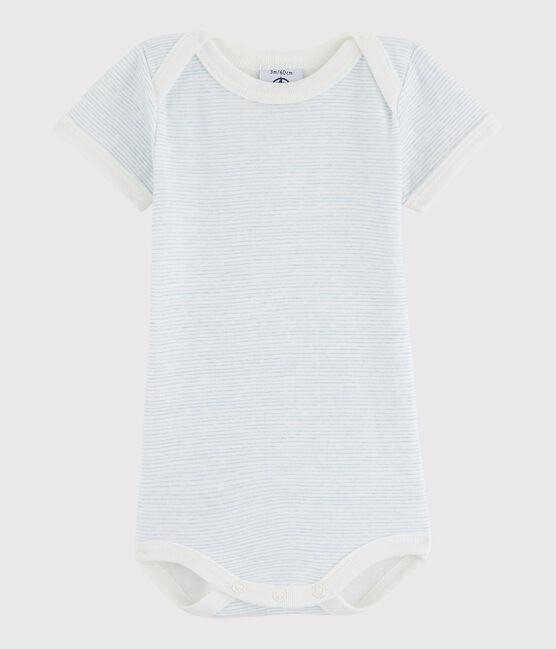 Kurzärmeliger Baby-Body Mädchen/Jungen LAIT/OXYGENE