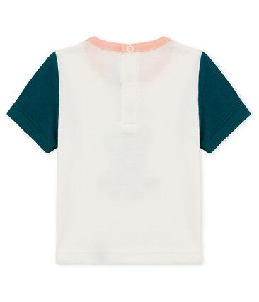 Kurzärmeliges baby-t-shirt mit motiv jungen