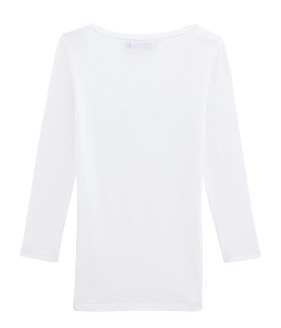 Emblematisches T-Shirt für Damen weiss Ecume