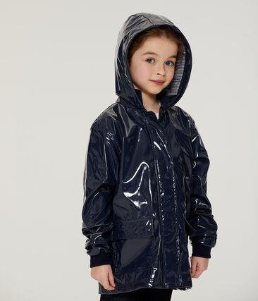 Lack-Regenjacke für Mädchen