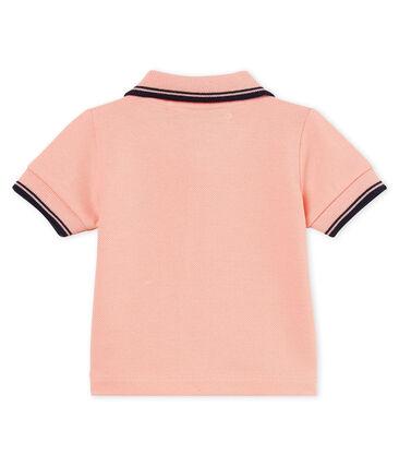 Einfarbiges kurzarm-polohemd aus piqué jungen
