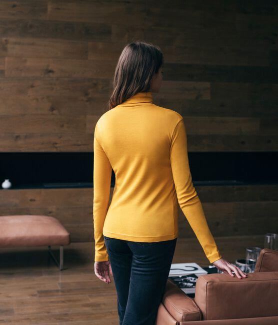 Unterziehpullover für Damen gelb Boudor