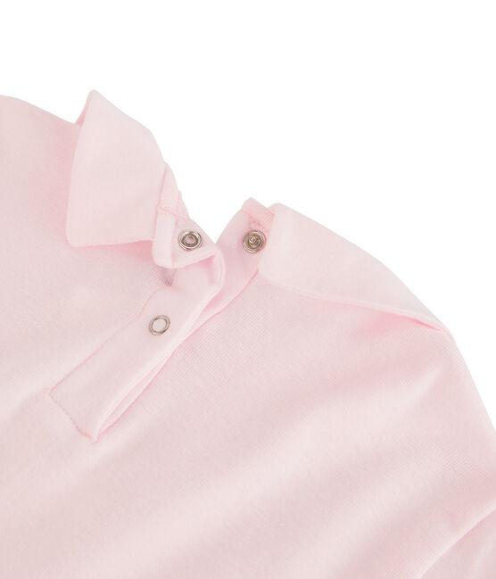 T-Shirt für Mädchen mit Bubikragen VIENNE