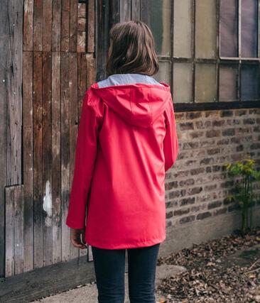 Regenjacke unisex rot Signal