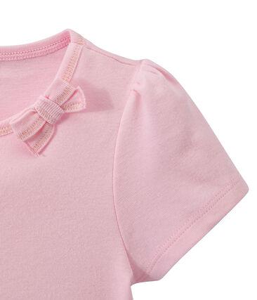 Mädchen-T-Shirt mit Schleifenapplikation