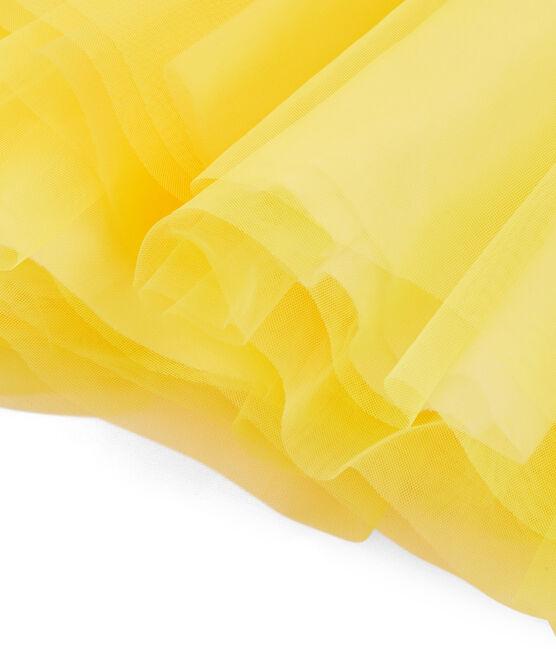 Kinder-Rock für Mädchen gelb Eblouis