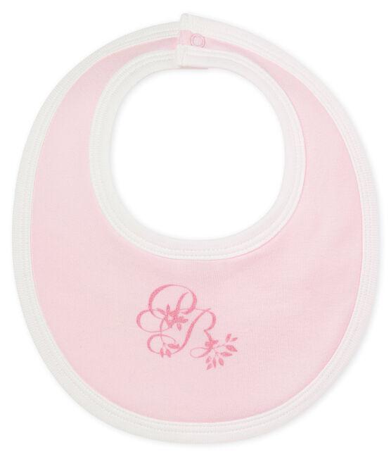 Unisex Baby Lätzchen aus 1x1 Rippstrick in Uni VIENNE