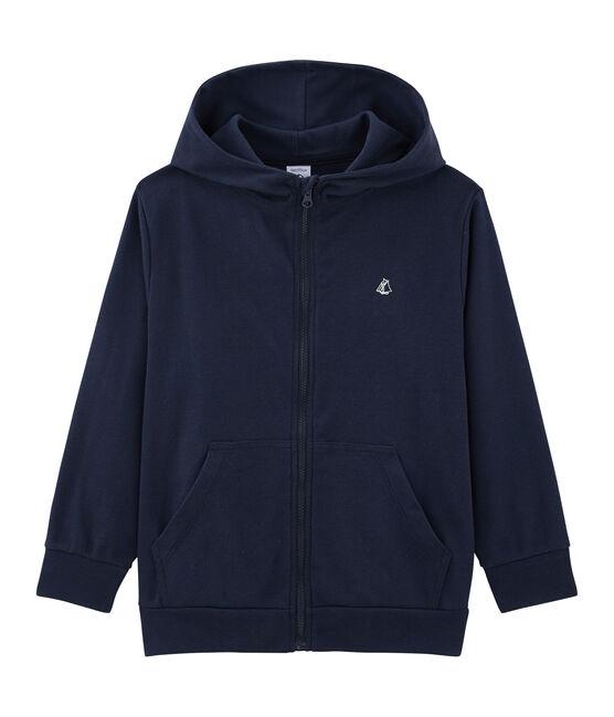 Sweatshirt für Jungen blau Smoking