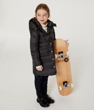 Daunenjacke mit Daunen- und Federfüllung für Mädchen grau Capecod