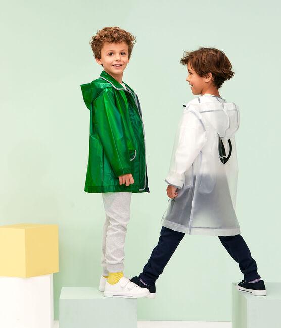 Kinder-Regenjacke für Mädchen und Jungen grün Prado