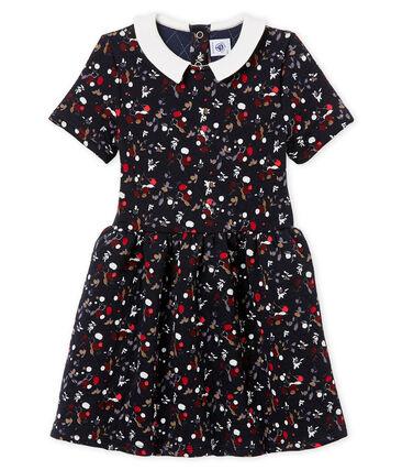 Kurzärmeliges Mädchen Kleid