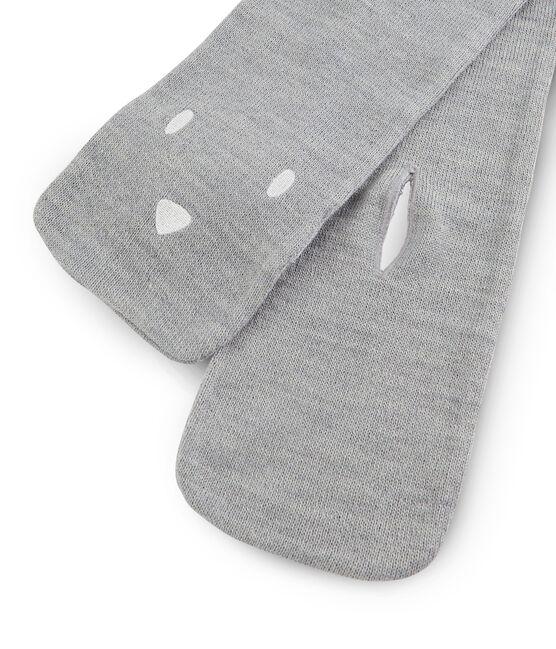 Baby-Schal, unisex grau Subway