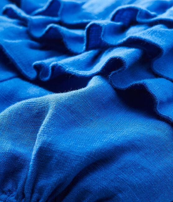 Baby-bloomer-höschen aus leinen mädchen blau Riyadh