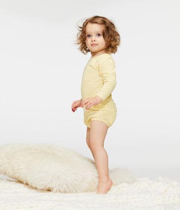 Set mit 5 langärmligen Baby-Bodys für Mädchen