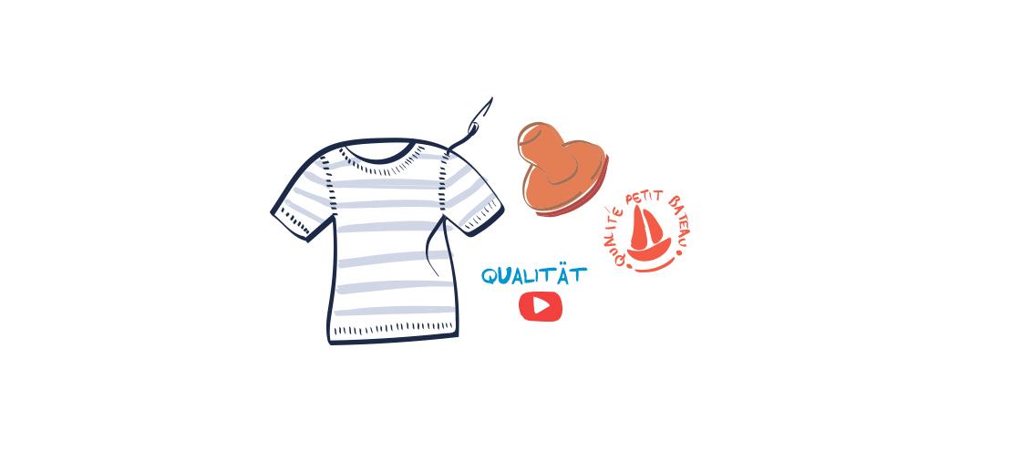 video qualitat handwerkskunst Petit Bateau