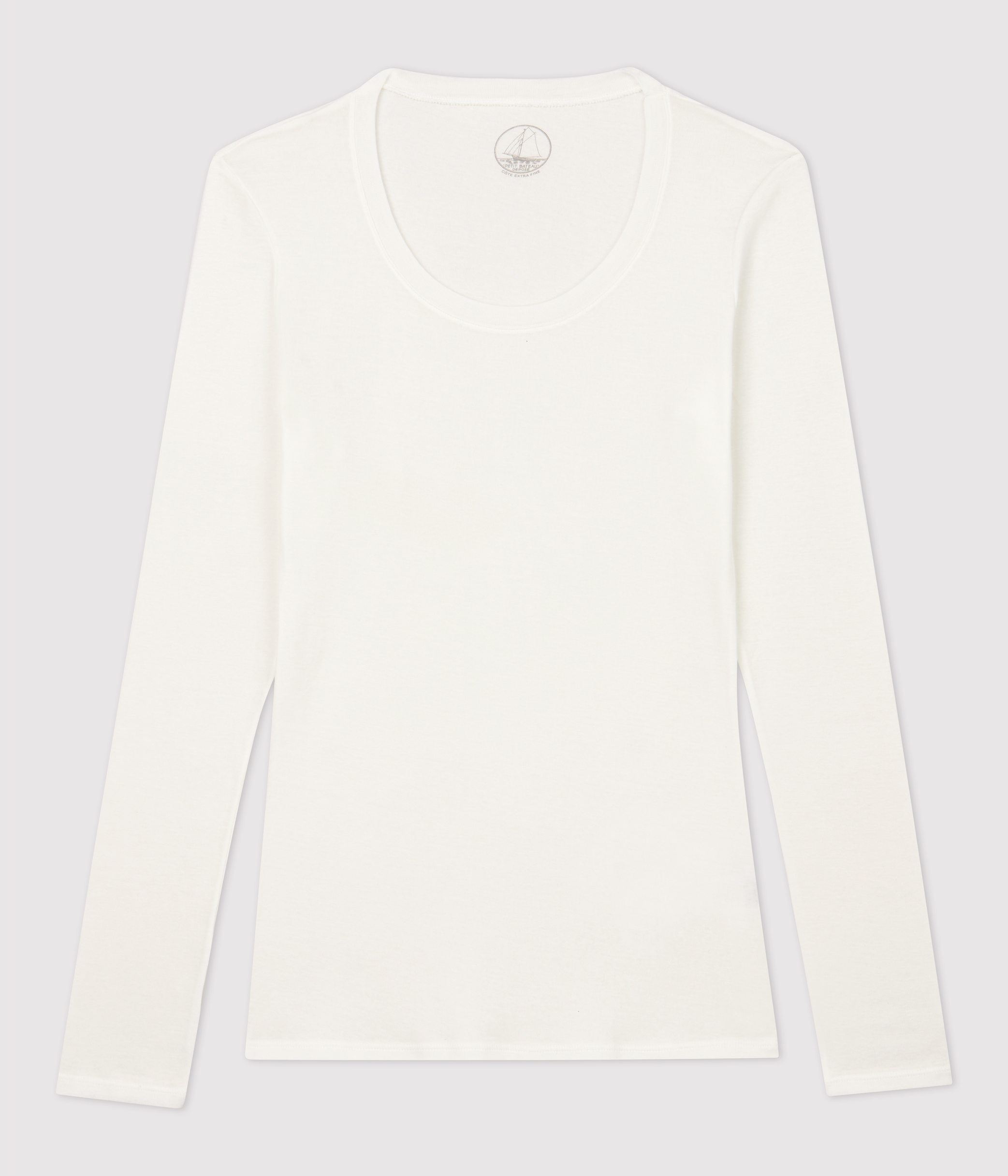Damen T Shirt, leichter Rippstrick